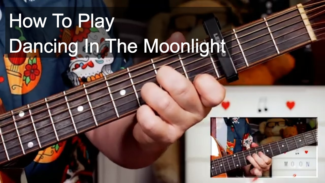 'Dancing In The Moonlight' Toploader Easy Acoustic Guitar Lesson