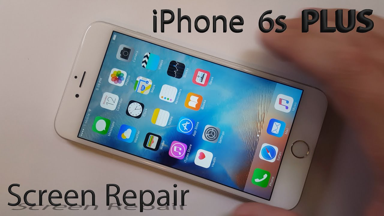 fix iphone 6 screen iphone 6s plus screen repair shown in 4 minutes fix 1687