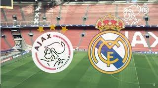 Ajax vs Real Madrid | 1-2