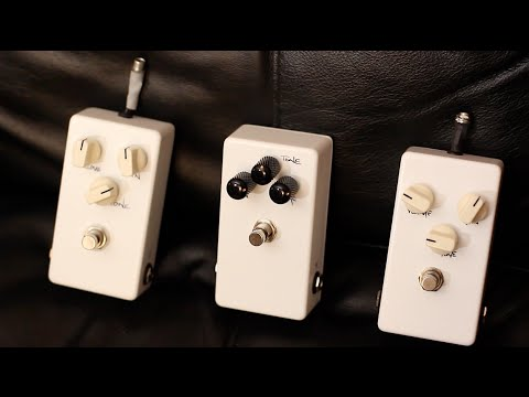 New Chapman Guitars Prototype Pedals - Let's design them together!
