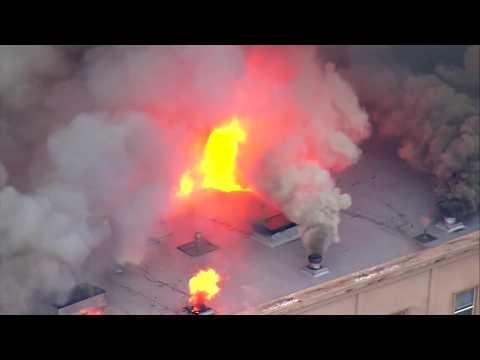 3-alarm fire in downtown Auburn