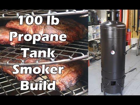 How To Build A Propane Tank Smoker