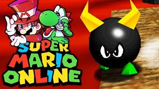 Bullies in der Lava! | 09 | Super Mario 64 Online