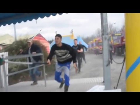 Circus Belly Weinn Staff Attack Protesters Youtube