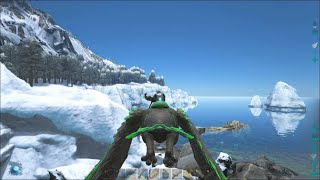 ARK Survival Evolved #18: Swamp & Snow Biomes