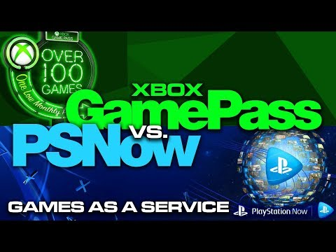 Xbox Game Pass vs PSNow - Which is Better? Games as a Service - Colteastwood 4K60