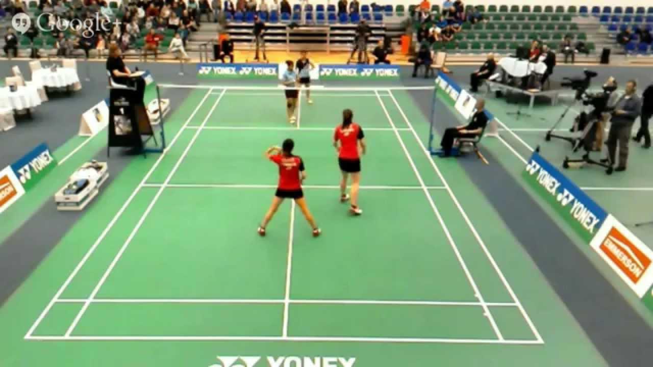 Final WD Gadre & Sikki Reddy VS Bruce & Chan Polish Open 2015