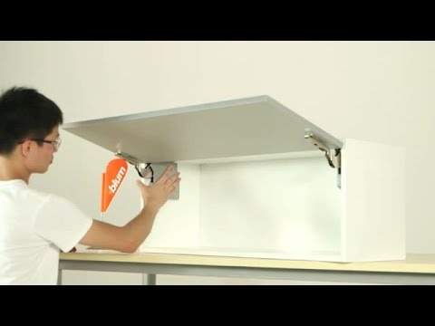 Small Flip Up Door Wall Cabinet Youtube