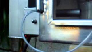 Repeat youtube video VENTURA SUPER 4. cold smoke generator test run.Burning Hickory woodchips