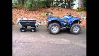 heavy duty garden poly dump cart 1 200 pound capacity garden utility cart