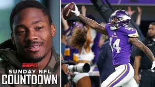 Stefon Diggs looks back at Vikings' Minneapolis Miracle vs Saints   NFL Countdown