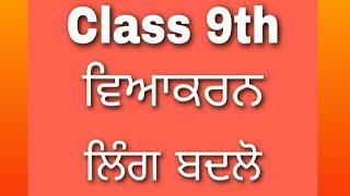 Learn Punjabi with samriti pruthi s.h.v.m.#class9 #lingbdlo.
