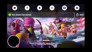 My Clash of Clans Stream visit base review