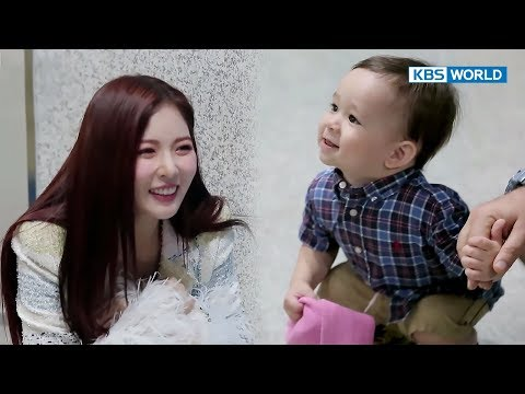 William meets HyunA at a drama set? [The Return of Superman/2017.11.05]