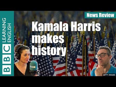 Kamala Harris makes