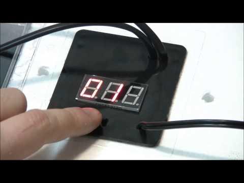Как настроить температуру в инкубаторе