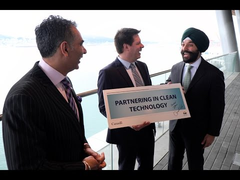 BC and Canada partner on investment in clean-energy technology