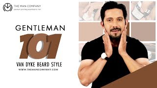 How to Shape Van Dyke Beard | Beard Styling Hacks by The Man Company