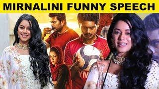 Dubsmash fame Mirnalini Ravi Funny Speech – Champion Movie Audio Launch