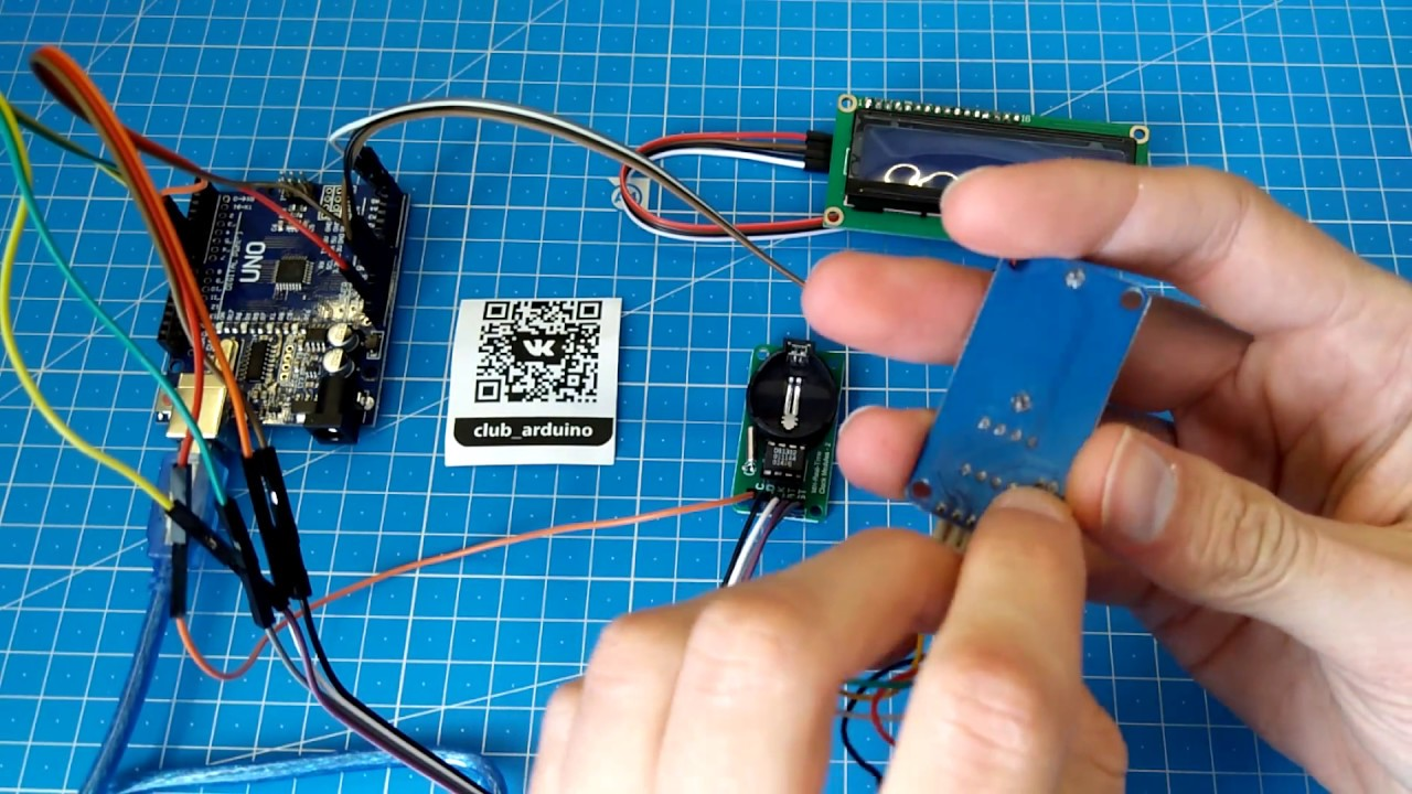 Simple Arduino Projects for Beginners- Real Time Clock