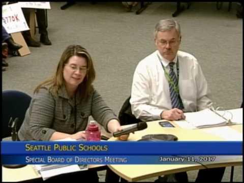 School Board Special Meeting 1/11/2017 Part 1
