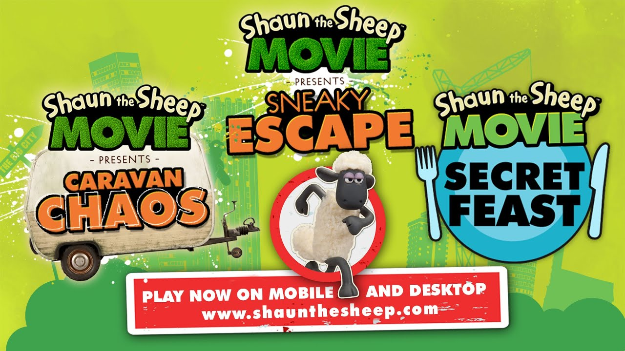 shaun the sheep the movie games for desktop and mobile