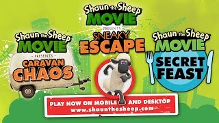 Shaun the Sheep The Movie - Games for Desktop and Mobile