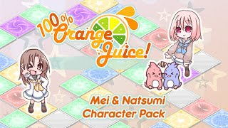 Mei (VA: Satou Megumi 佐藤 恵) and Natsumi (VA: Maruyama Miki 丸山 ...