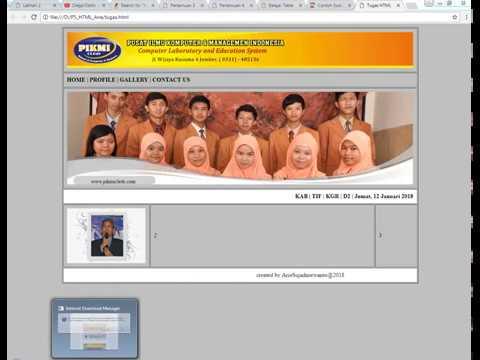 P5 : Latihan Tugas Praktek HTML Plus Jawaban