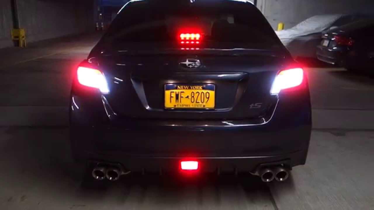 2015 Subaru Wrx F1 Stop Light Quad Reverse Switchback Mod