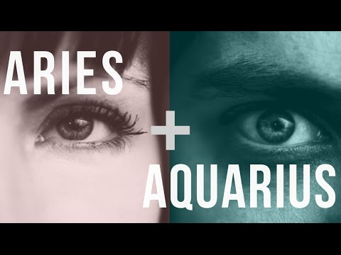 Why Aquarius and Aries Are Attracted to Each Other | PairedLife
