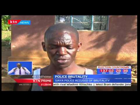 Media Council of Kenya reacts to police brutality on a Standard Journalist in Siaya County