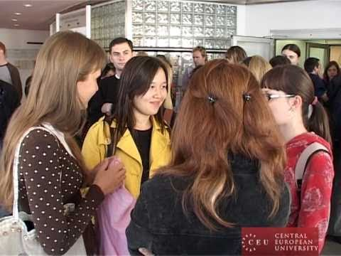 CEU's newest batch of students arrive in Budapest
