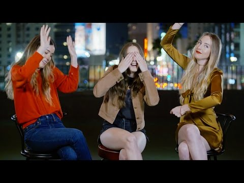 HAIM on Karaoke Jams and Meeting Stevie Nicks | Last Questions