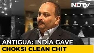 Police Certificate Gave All-Clear: Antigua On Mehul Choksi's Citizenship