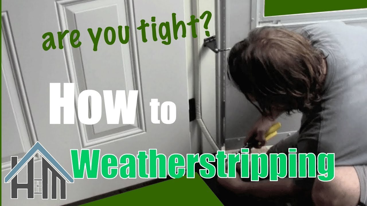 How To Replace Exterior Door Weatherstripping Easy Home Mender