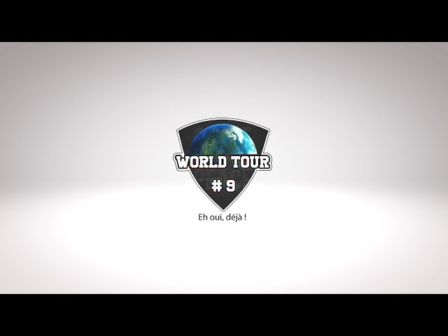 World Tour #9 PeaceAndCube !