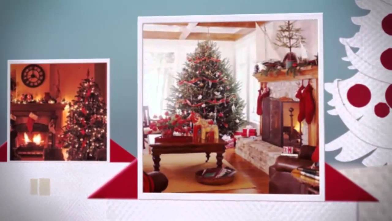 For Red Living Rooms Traditional Christmas Living Room Ideas Youtube
