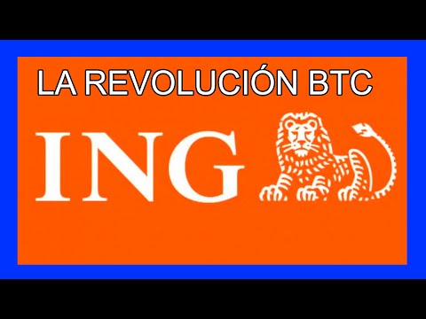 BITCOIN ING Otro Que Se Sube Al CARRO BTC