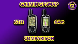 [1 Hour Tech Reviews] Garmin GPSMAP 64st vs 62st