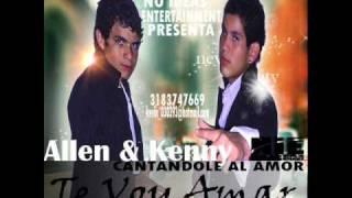 Te Voy Amar  Allen & Kenny  Lanza Music Video Oficial