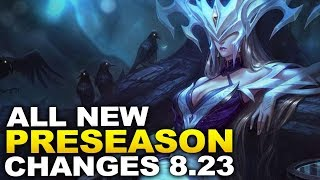 Everything you need to know about PRESEASON Patch 8.23