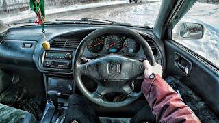 1999 Honda Torneo 2.0 VTS - First Person Driving / Вождение от первого лица