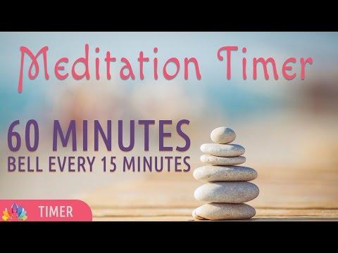 Meditation Timer | 60 Minutes | Bell every 15 Mins | Online Meditation Timer