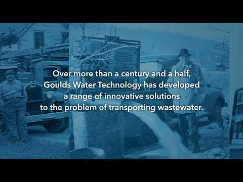 Wastewater. Solved. The New Goulds Water Technology Wastewater Pump Portfolio