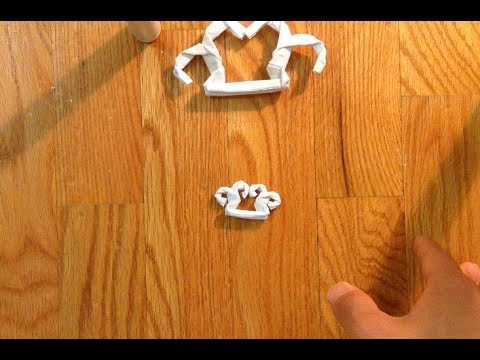 Origami brass knuckles