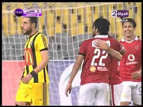 اهداف مباراة الأهلي والمقاولون 3-1    الدورى المصرى, 10-1-2016
