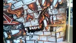 Urban Art Graffiti (Toulouse France) vid2