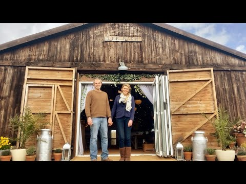 Wedding Venue Tour | The Barn at Cott Farm in Somerset