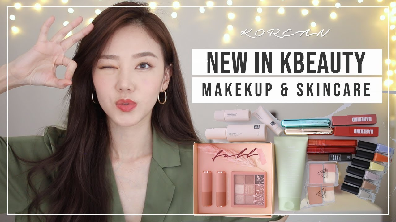 NEW IN KBEAUTY | Makeup & Skincare..Ready for the Fall!